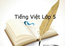 Giải Tiếng Việt Lớp 5 (Tập 1 & 2)