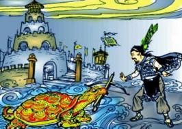 Sau khi tự tử ở giếng Loa Thành, xuống Thuỷ cung, Trọng Thuỷ gặp lại Mị Châu. Hãy tưởng tượng và kể lại câu chuyện đó